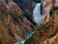 Grand Canyon Falls Yellowstone National Park