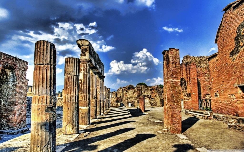 Italy Pompeii Tour