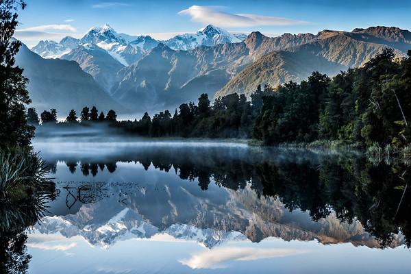 Beautiful Lake Matheson
