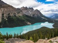 Peyto Lake Banff National Park Canada – Beautiful Lake in the World